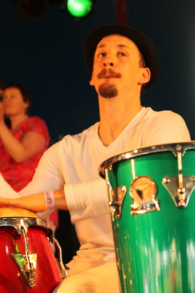 Colin Daimond Kaya festival percussion